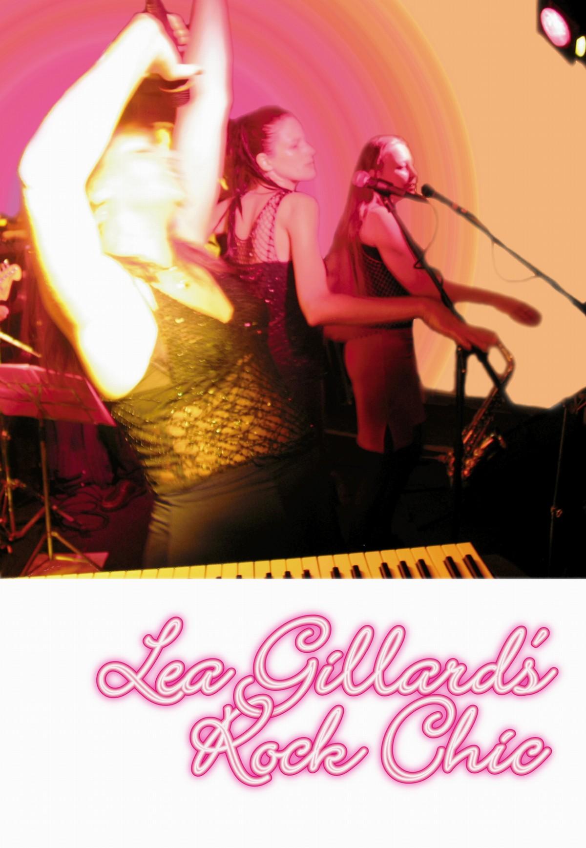 Lea Gillard's Rock Chic - Promo Postcard