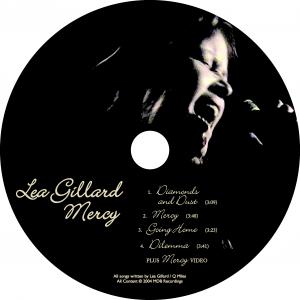 Mercy EP disc art