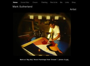 marksutherlandart.com archived site