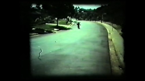 A frame from the video